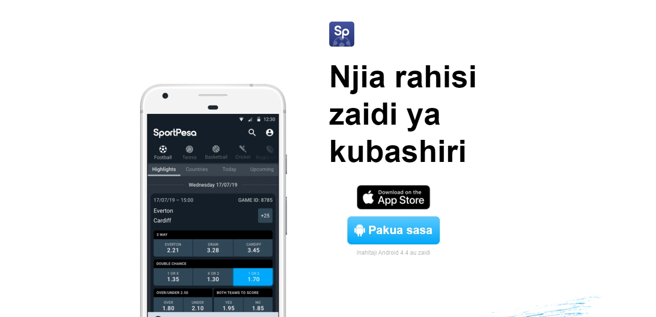 SportPesa download app